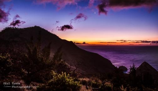 High Hill Sunset