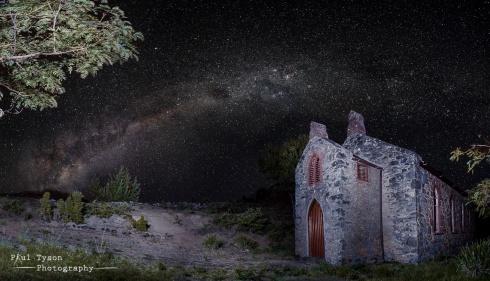 Sandy Bay Church Milky Way
